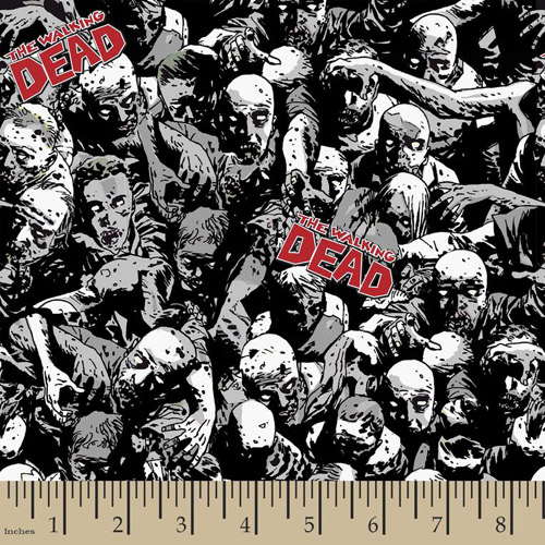 Walking Dead Fabric